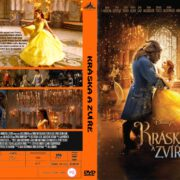 Beauty and the Beast (2017) R0 Custom Czech DVD Cover