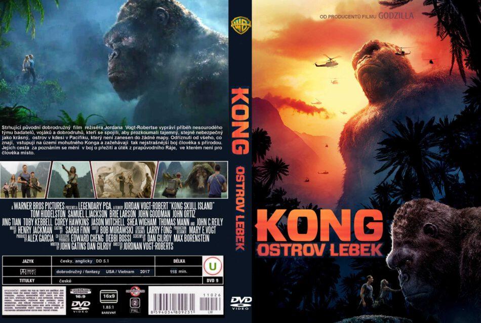 Kong Skull Island Dvd Cover 2017 R0 Custom Czech