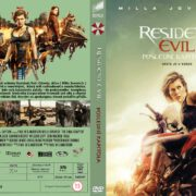 Resident Evil The Final Chapter (2016) R2 Custom Czech DVD Cover