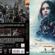 Rogue One Star Wars Story (2016) R2 Custom Czech DVD Cover