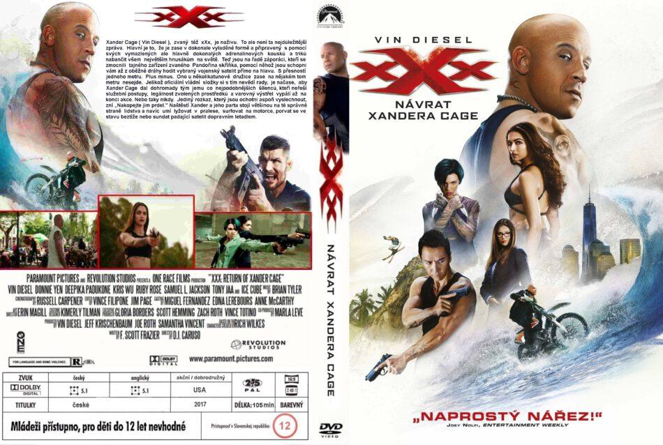 Xxx The Return Of Xander Cage Dvd Cover 2017 R0 Custom Crezch