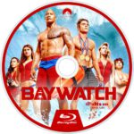 Baywatch (2017) R0 Custom Blu-Ray Label