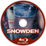 Snowden (2016) R1 Custom Blu-Ray Label