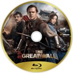 The Great Wall (2017) R1 Custom Blu-Ray Label