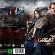 The Great Wall 3D (2017) R2 Custom German Blu-Ray Cover