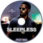 Sleepless (2016) R1 Custom Blu-Ray Labels