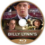 Billy Lynns Long Halftime Walk (2016) R1 Custom Blu-Ray Labels