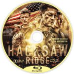 Hacksaw Ridge (2016) R1 Custom Blu-Ray Label
