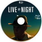Live By Night (2016) R1 Custom Blu-Ray Label