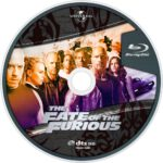 The Fate of the Furious 8 (2017) R0 Custom Blu-Ray Label