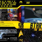 Star Trek: The Original Series - Season 1 (1966) R1 Custom Blu-Ray Cover