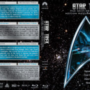 Star Trek: The Next Generation Motion Picture Collection (1979-1991) R1 Custom Blu-Ray Cover