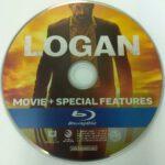 Logan (2017) R1 Blu-Ray Label