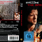 The Specialist (1994) R2 German Blu-Ray Covers & Label