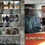 X-Men Origins: Wolverine / The Wolverine / Logan Triple Feature (2009-2017) R1 Custom Blu-Ray Cover
