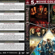 Pirates of the Caribbean: Complete Movie Collection (2003-2017) R1 Custom Cover