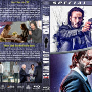 John Wick Double Feature (2014-2017) R1 Custom V2 Blu-Ray Cover