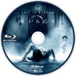 Rings (2016) R1 Custom Blu-Ray Label