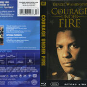 Courage Under Fire (1996) R1 Blu-Ray Cover & Label