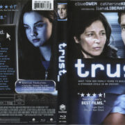 Trust (2010) R1 Blu-Ray Cover & label