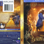 Beauty And The Beast (2017) R1 Blu-Ray Cover & Labels