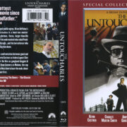 The Untouchables (1987) R1 Blu-Ray Cover & Label
