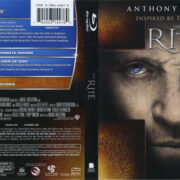 The Rite (2011) R1 Blu-Ray Cover & Label