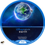 Earth (2007) R1 Custom Blu-Ray Label