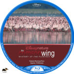 The Crimson Wing: Mystery of the Flamingos (2008) R1 Custom Blu-Ray Label