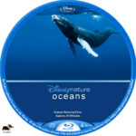 Oceans (2009) R1 Custom Blu-Ray Label