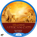 African Cats (2011) R1 Custom Blu-Ray Label