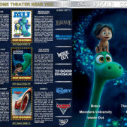 Disney Pixar Collection – Set 3 (2012-2017) R1 Custom Covers