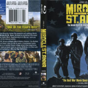 Miracle At St. Anna (2008) R1 Blu-Ray Cover & Label