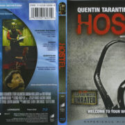 Hostel (2005) R1 Blu-Ray Cover & Label