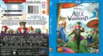 Alice in Wonderland (2010) R1 Blu-Ray Cover