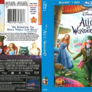 Alice in Wonderland (2010) R1 Blu-Ray Cover