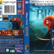 Brave (2012) R1 Blu-Ray Cover