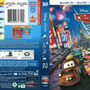 Cars 2 (2011) R1 Blu-Ray Cover
