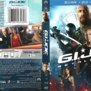 G.I. Joe Retaliation (2013) R1 Blu-Ray Cover
