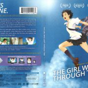 The Girl Who Leapt Through Time (2006) R1 Blu-Ray Cover