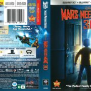Mars Needs Moms (2011) R1 Blu-Ray Cover
