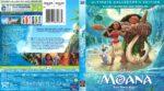 Moana (2016) R1 Blu-Ray Cover
