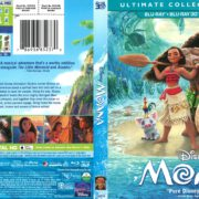 Moana (2016) R1 Blu-Ray Cover