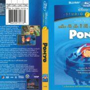 Ponyo (2008) R1 Blu-Ray Cover