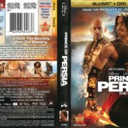 Prince of Persia: The Sands of Time (2010) R1 Blu-Ray Cover
