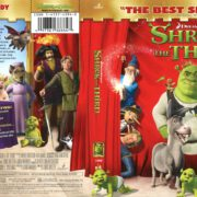 Shrek the Third (2007) R1 Blu-Ray Cover