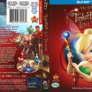 Tinkerbell and the Lost Treasure (2009) R1 Blu-Ray Cover
