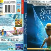 Secret of the Wings (2012) R1 Blu-Ray Cover