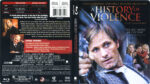 A History Of Violence (2005) R1 Blu-Ray Cover & Label
