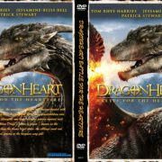 Dragonheart: Battle for the Heartfire (2017) R0 CUSTOM Cover & Label